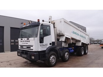 Iveco Eurotrakker 320 E 34 (FULL STEEL SUSPENSION / MANNUAL PUMP AND GEARBOX) - tipper