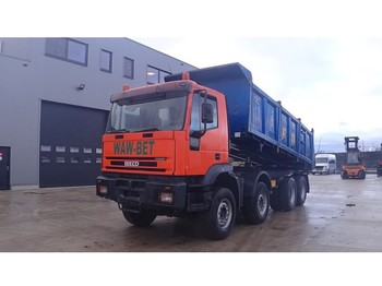 Iveco Eurotrakker 340 E 35 (BIG AXLE / STEEL SUSPENSION / 8X6) - tipper