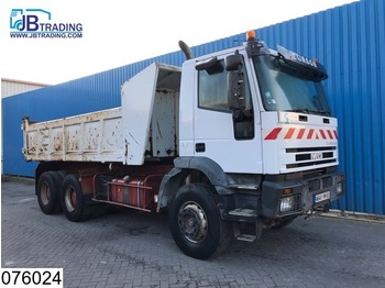 Tipper Iveco Eurotrakker 350 6x4, Manual, Steel suspension, Hub reduction