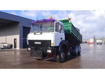 Tipper Iveco Magirus 260 - 34 (GRAND PONT / SUSPENSION LAMES / V8 / 6X6)