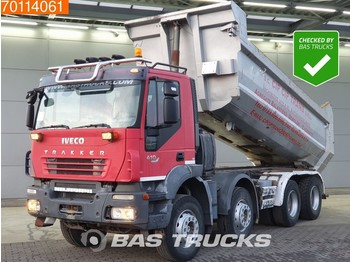 Tipper Iveco Trakker AD320T41 8X4 Manual Big-Axle Steelsuspension Euro 4: picture 1