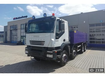 Tipper Iveco Trakker AT440T48 Active Time, Euro 3, full steel suspension