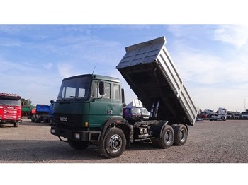 Tipper Iveco Turbostar 330 - 36 (BIG AXLE / STEEL SUSPENSION / WATER COOLED ENGINE)