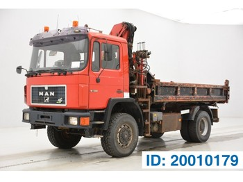 MAN 18.232 - 4x4 - tipper