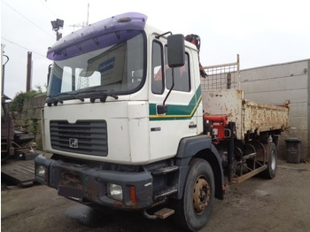 MAN 19.314 moteur probleme ENGINE! - tipper