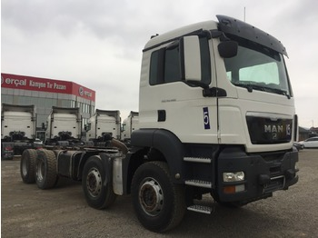 MAN 2014 MAN TGS 41.480 E5 8X4 CHASSIS - tipper