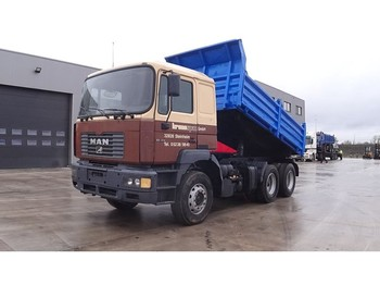 Tipper MAN 26.414 (6 CYLINDER WITH ZF-GEARBOX / FULL STEEL SUSPENSION)