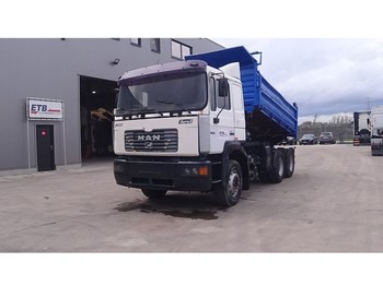 MAN 26.414 (FULL STEEL SUSPENSION / 6 CYLINDER ENGINE WITH ZF-GEARBOX / EURO 2) - tipper