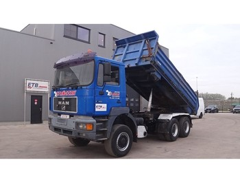 MAN 27.403 (DOUBLE FUNCTION --> TIPPER AND TRUCKHEAD / 6X6 / STEEL SUSPENSION) - tipper