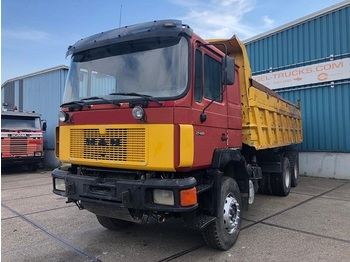 MAN 27.422DF 6x4 FULL STEEL KIPPER (MECHANICAL PUMP AND INJECTORS / REDUCTION AXLES / FULL STEEL SUSPENSION) - tipper