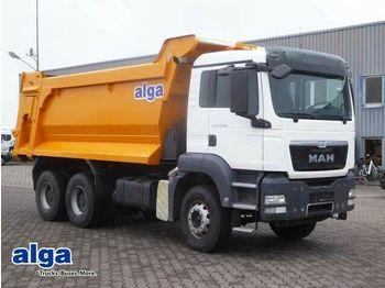 Φορτηγό ανατρεπόμενο MAN 33.400 BB TGS 6x4, klima, stahl 20m³, Blatt