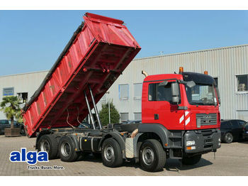 Φορτηγό ανατρεπόμενο MAN 35.360 BB TGA 8x4, Meiller, 1. Hand, Klima,Blatt