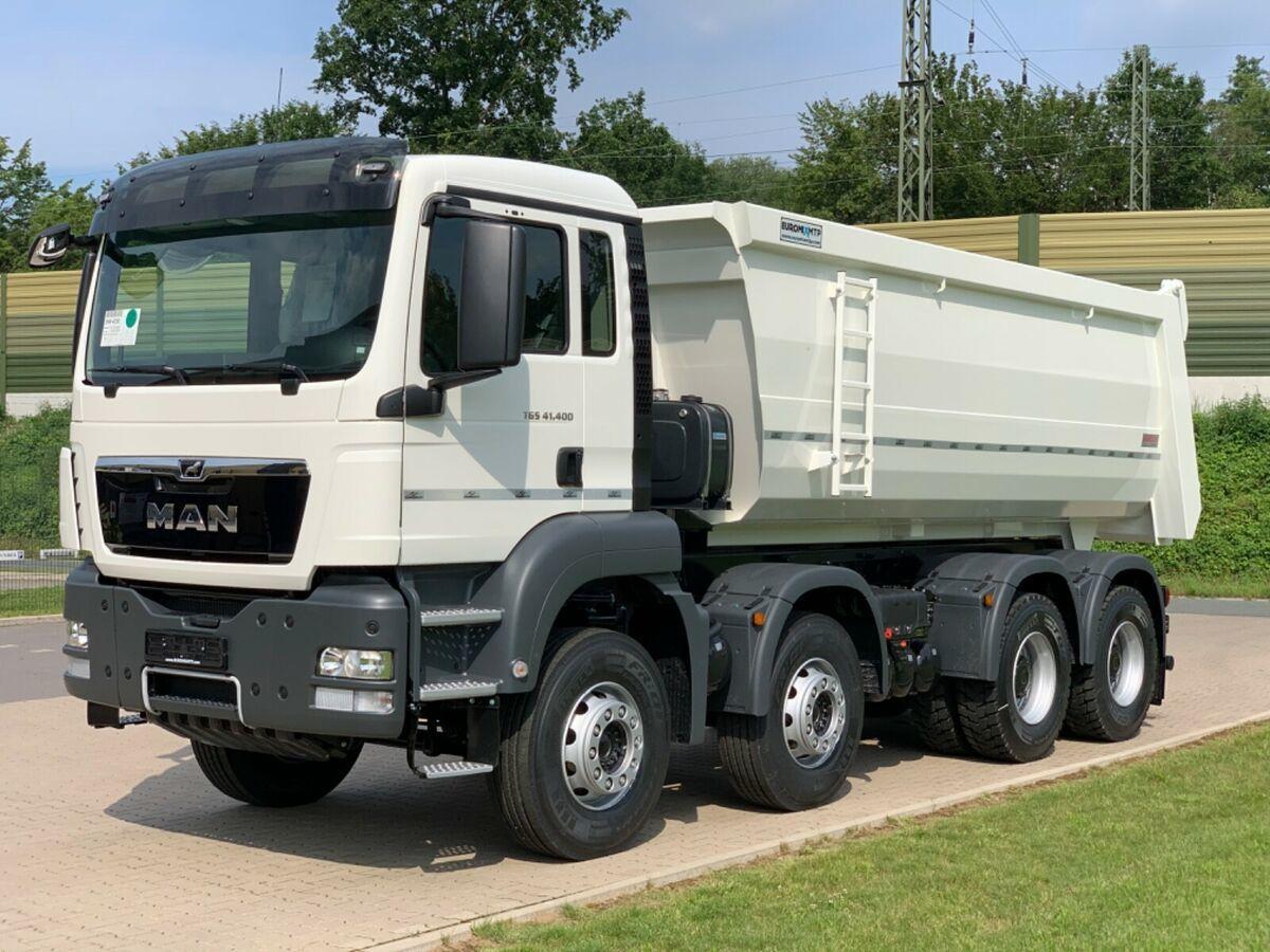 tipper MAN 41.400 8x4 / MuldenKipper EUROMIX  20m³/ EURO 5