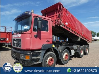 MAN 41.400 F2000 8x4 full steel - tipper