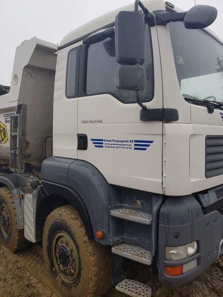 Tipper MAN 8x8 - Truck1 ID: 3230110