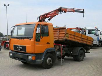 Tipper MAN L2000 10.163 2-Achs Kipper Kran