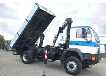 Tipper MAN LE 18.280 4x4 Darus Billencs