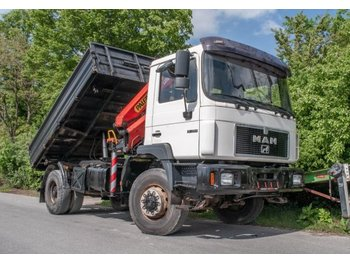 MAN M 2000 18.264 AK Kipper Kran PK 11000 - tipper