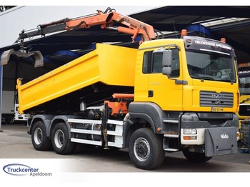 MAN TGA 26.360, 6x6, Steel springs, Manuel, 16 t/m Atlas, 2 Way tipper, Truckcenter Apeldoorn - tipper
