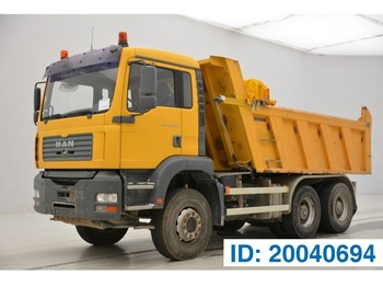 Tipper MAN TGA 26.410 - 6x4 - tractor/tipper double use