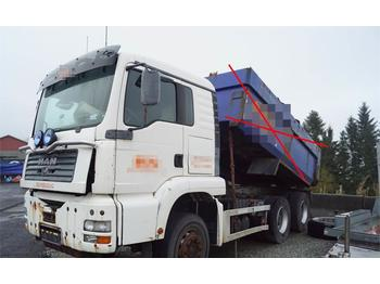 MAN TGA 26.480 6x4 rep. objekt/part truck  - tipper