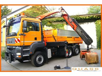 Tipper MAN TGA 28.400 6x4-4 BL/MEILLER/PK12502/Winterdienst