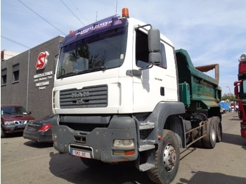 Tipper MAN TGA 33.360 6x6 heavy chassis/ tipper hydr Door: picture 1