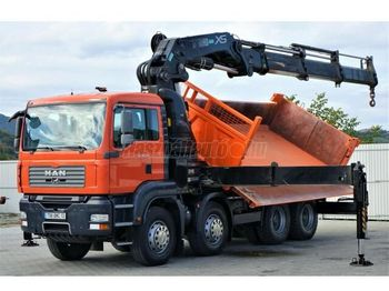 MAN TGA 35.400 8x4 Darus billencs Bordmatic - tipper