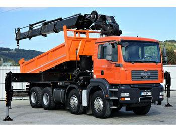 Φορτηγό ανατρεπόμενο MAN TGA 35.400 Kipper 5,00 m+KRAN/FUNK HIAB 600*8x4!