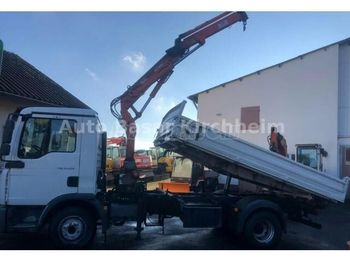 MAN TGL 12.210 Darus 3 old. Billencs - tipper