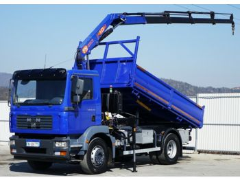 MAN TGM 18.240 Kipper 4,30 m + KRAN !!  - tipper