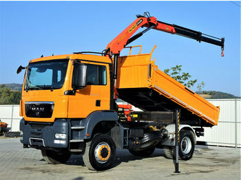 Leasing MAN TGS 18.400 Kipper 4,20 m + Kran *4x4 ! ! !  - tipper