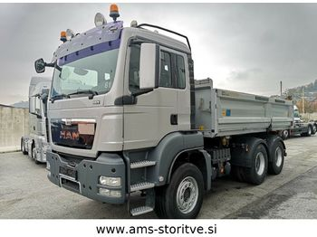 MAN TGS 26.440 6X4 MEILLER BORDMATIK  - tipper
