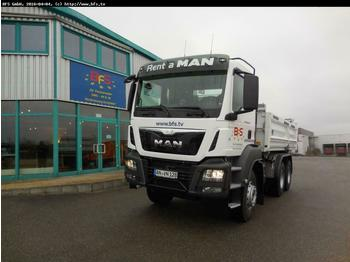 MAN TGS 26.440 6x4 BB Bordmatik links Intarder  - tipper