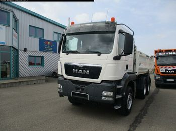 Tipper MAN TGS 26.480 6X4 BB Bordmatik links