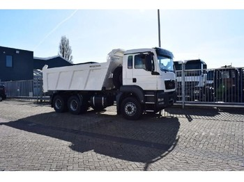 Tipper MAN TGS 33.360 BB-WW 6x4 TIPPER TRUCK MEILLER