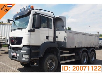 Tipper MAN TGS 33.440 - 6x6 - tractor/tipper double use