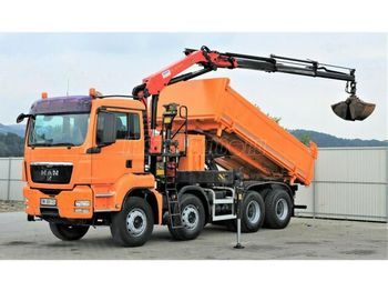 MAN TGS 35.400 Darus Billencs - tipper