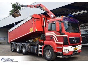 Tipper MAN TGS 35.400 HMF 1643 Z2, Euro 4, 8x4 Triple, Truckcenter Apeldoorn