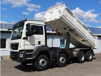 Φορτηγό ανατρεπόμενο MAN TGS 35.460 8x4 Meiller Kipper Mietkauf möglich