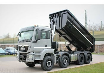 Tipper MAN TGS 41470 8X4 Mulden-Kipper 18m