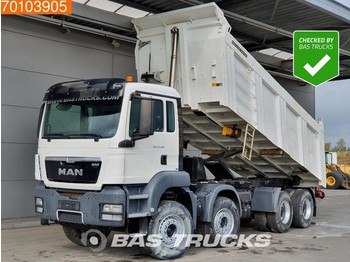 Tipper MAN TGS 41.400 8X4 Manual 20m3 Big-axle Steelsuspension Euro 2: picture 1
