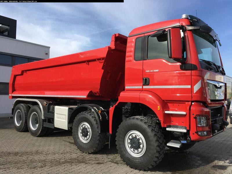 Tipper MAN TGS 41 500 8x8 BB Allrad, Hinterkipper, Tip-Mati - Truck1 ID:  3420822