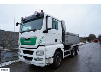 MAN TGX - tipper