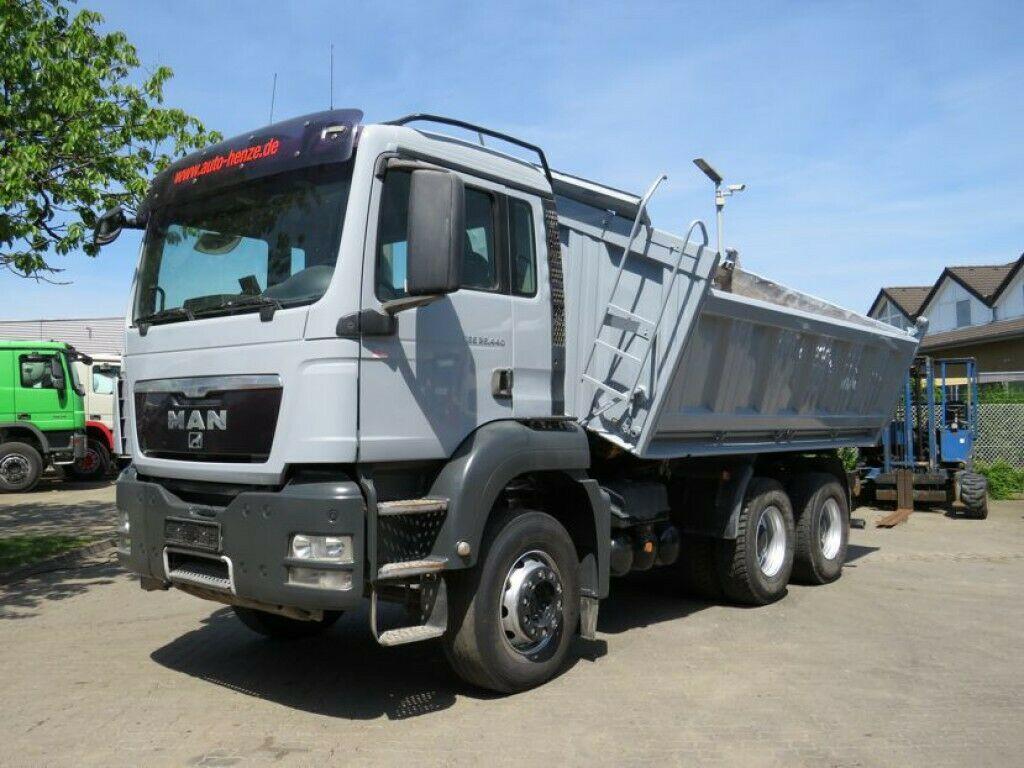 tipper MAN TG-S 26.440 6x4 3-Achs Kipper