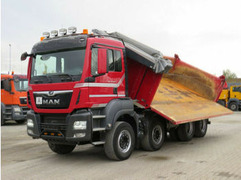 MAN TG-S 35.500 8x4 BB 4-Achs Kipper Bordmatik  - tipper