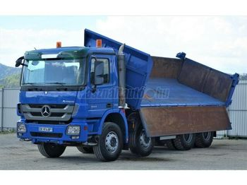 MERCEDES-BENZ Actros 3241 8x4 3 old. Billencs Bordmatic - tipper
