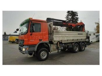 MERCEDES-BENZ Actros 3346 6x6 Darus Billencs - tipper