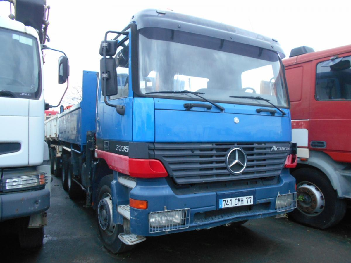 tipper Mercedes Actros 3335