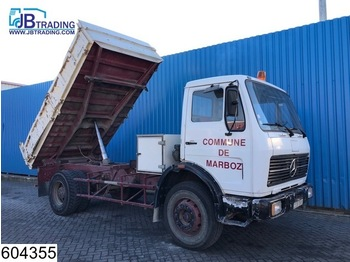 Mercedes-Benz 1617 Manual, Steel suspension, Hub reduction - tipper